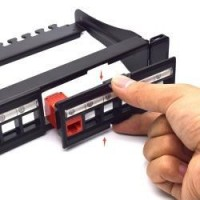 Professional Modular Blank Patch Panel With Cable