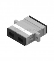 SC-SC OM2 Duplex Adapter- Multimode- Plastic housi
