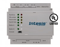 Modbus TCP  and RTU Master to KNX TP Gateway - 100