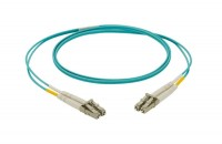 NK 2-fiber OM4 2.0mm LSZH Jacket Patch Cord LC Dup