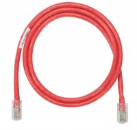 NK Patch Cord in Rame- Category 5e- Red UTP Cable-