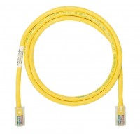 NK Patch Cord in Rame- Category 5e- Yellow UTP Cab