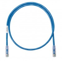 NK Patch Cord in Rame- Category 6- Blue UTP Cable-