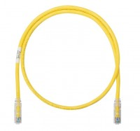 NK Patch Cord in Rame- Category 6- Yellow UTP Cabl