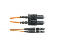 NK 2-fiber OM3 1.6mm LSZH Jacket Patch Cord LC to