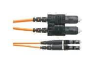 NK 2-fiber OS2 1.6mm LSZH Jacket Patch Cord LC to