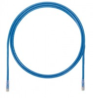 Patch Cord in Rame- Cat 6A- Blue UTP Cable- 3m