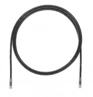 Patch Cord in Rame- Cat 6A- Black UTP Cable- 3m