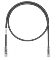 Patch Cord in Rame- Cat 6A- Black UTP Cable- 7m