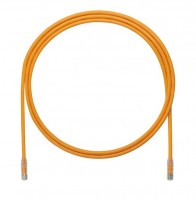 Patch Cord in Rame- Cat 6A- Orange UTP Cable- 2m