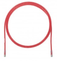 Patch Cord in Rame- Cat 6A- Red UTP Cable- 1m