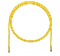 Patch Cord in Rame- Cat 6A- Yellow UTP Cable- 1m