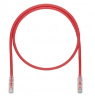 Patch Cord in Rame- Cat 6A SD- Red UTP Cable- 1m