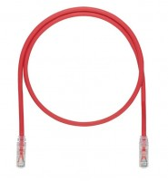 Patch Cord in Rame- Cat 6A SD- Red UTP Cable- 3m