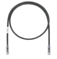 Patch Cord in Rame- Cat 6A SD- Black UTP Cable- 3m