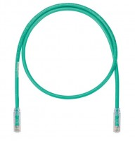 Patch Cord in Rame- Cat 6A SD- Green UTP Cable- 3m