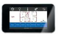 Touch panel KNX 4-3 pollici completo di Miniserver
