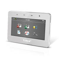 Tastiera touch 7 pollici (frontale silver, frame a