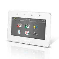 Tastiera touch 7 pollici (frontale bianco, frame a
