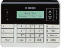 LCD text keypad with additional function buttons